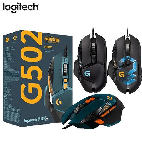 Logitech Mx518 Mouse G502 HERO Gaming Mouse 12000DPI RGB