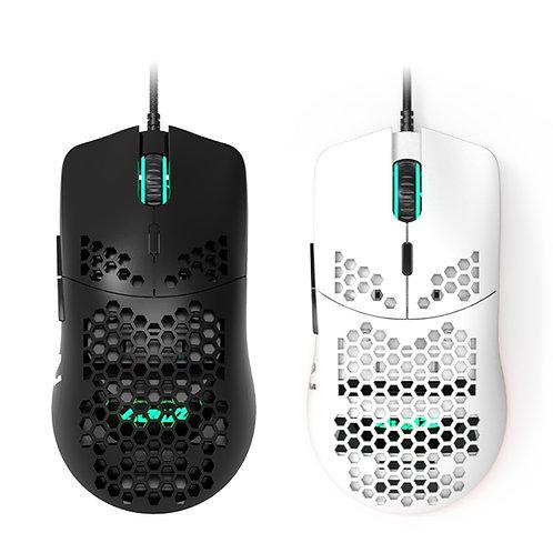 Honeycomb Shell Gaming Mouse 16000DPI Optical Sensor RGB