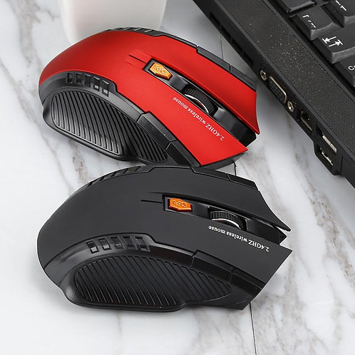 1600DPI Gaming 6 Keys 2.4GHz Wireless Computer Mouse