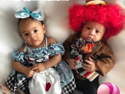 Mamãe sem filtro: Conheça a história da Aline e os gêmeos
