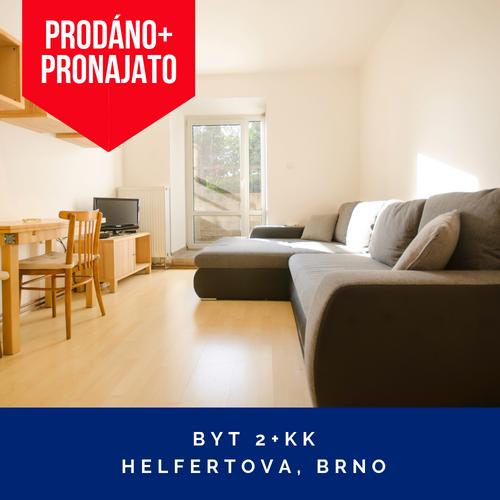 Prodej bytu 2kk Brno