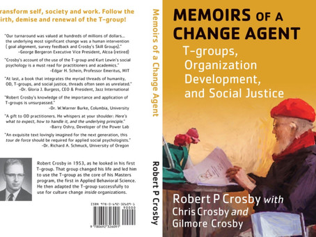 New Book - Memoirs of a Change Agent (Robert Crosby)