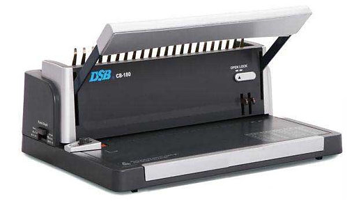 DSB CB180 Small Office Manual Comb Binding Machine