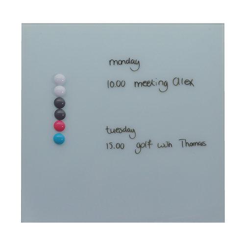 35 x 35cm Glassboards - Various Colours
