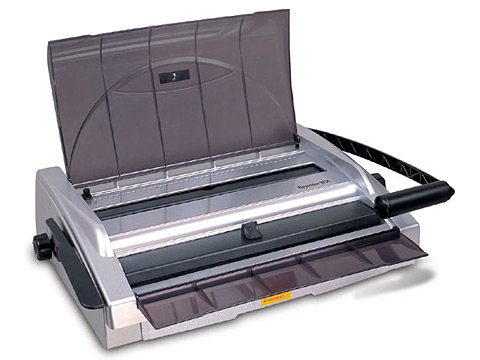 QBind QBW3140S A4 & A5 Office Manual Wire Binder
