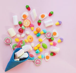 composition-candies-waffle-cone_23-21476