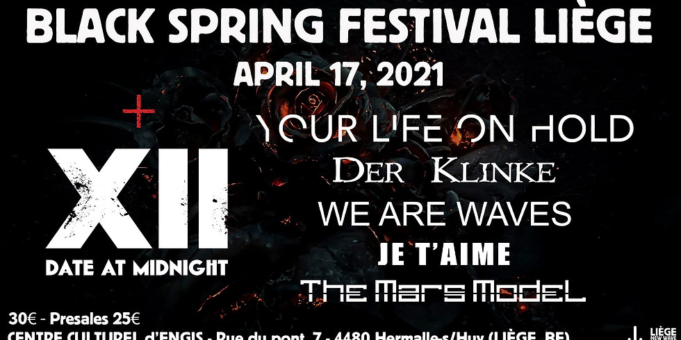 Black Spring Festival Liège 2022
