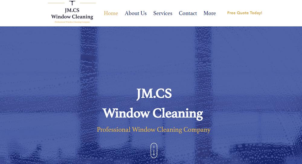 JM.CS Window Cleaning
