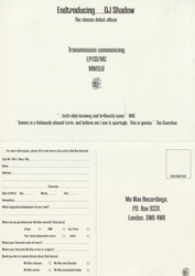 Endtroducing Double Card (Front)