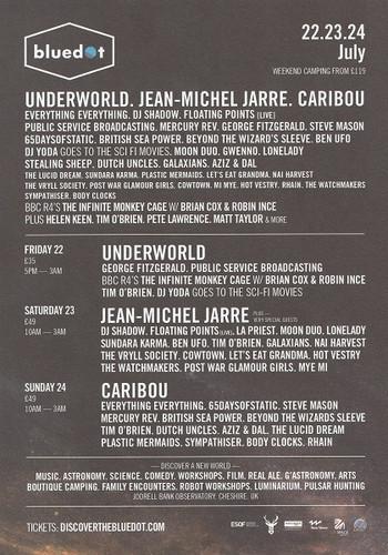 23rd July 2016 - Blue Dot Festival (Back))