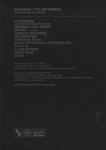 17th September 2011 - Manchester (Back)