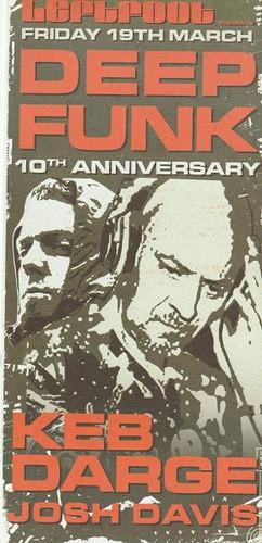 19th March 2004 - Deep Funk - Birmingham (Front)