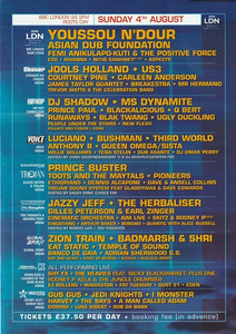 3rd August 2002 - Essential Festival Flyer 2 (Page 3)