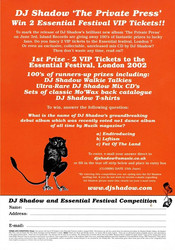 Essential Festival Competition
