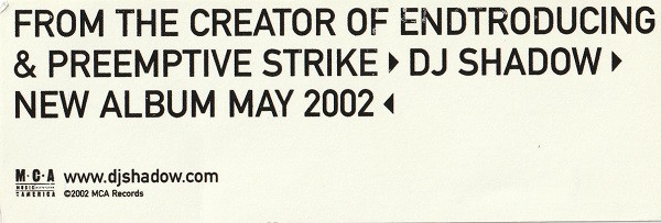 New Album May 2002
