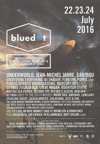 23rd July 2016 - Blue Dot Festival (Front)