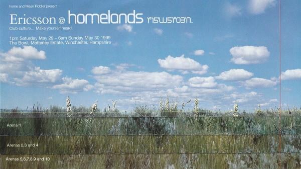 Homelands Festival - Front