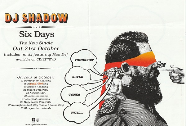October 2002 Tour Dates - Front