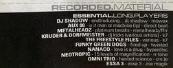 URB Essential LP's