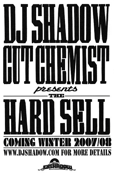 Hard Sell Tour Postcard (Front)