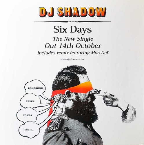 Six Days Store Advert