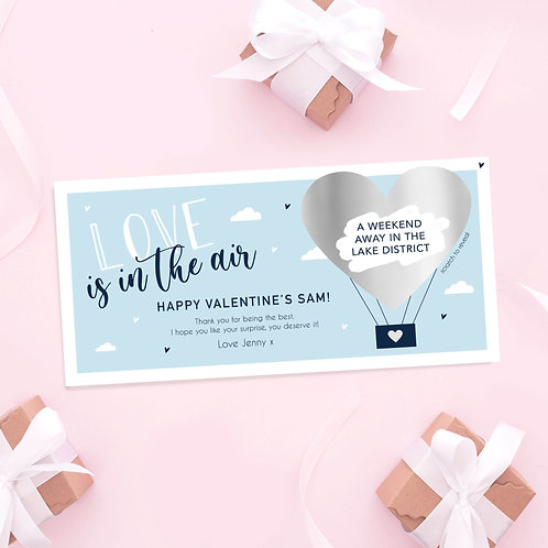 Love is in the Air Scratch Off