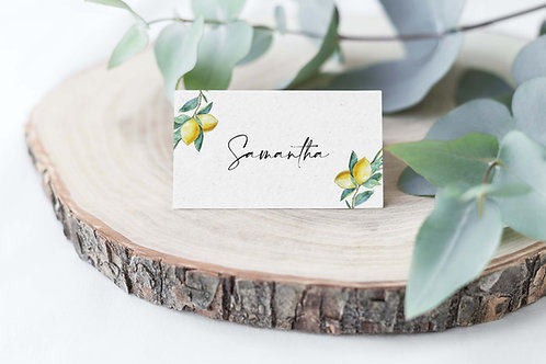 Lemon and Olive Branch Italian Guest Name
