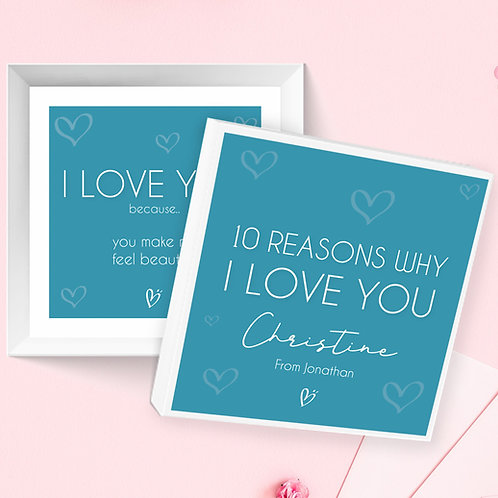 10 Reasons Why I Love You Box