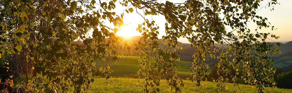 Sonnenuntergang in Hemberg