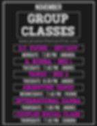11-2019 Nov Upcoming Group Classes PML.j