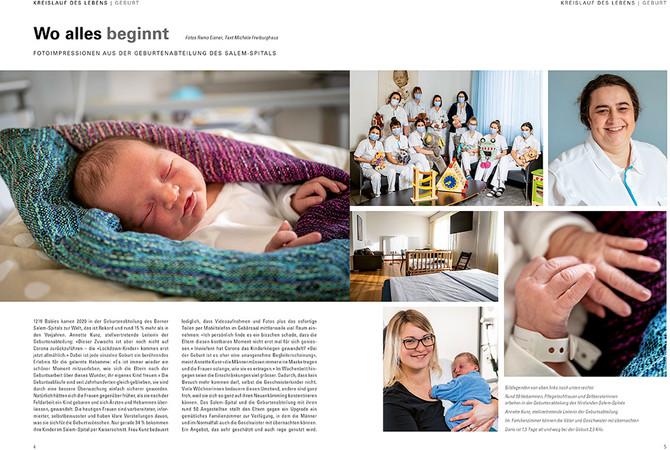 Neugeborenenabteilung Hirslanden