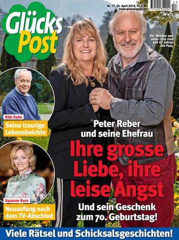 Peter Reber mit Frau Livia