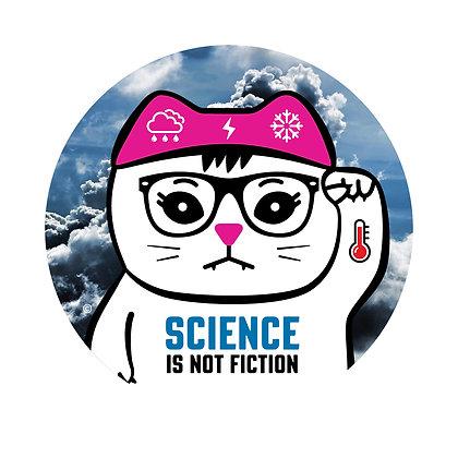 Science Climate Round Sticker