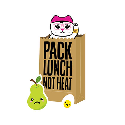 Pack Lunch Die-Cut Sticker