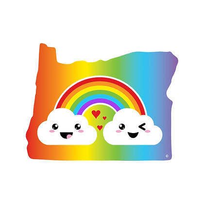 Oregon Pride Die-Cut Sticker