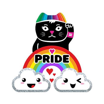 Pride Rainbow Die-Cut Sticker