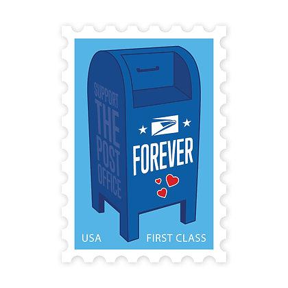 USPS Forever Stamp Die-Cut Sticker