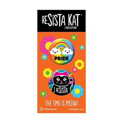 2-Pack Pride Combo Buttons