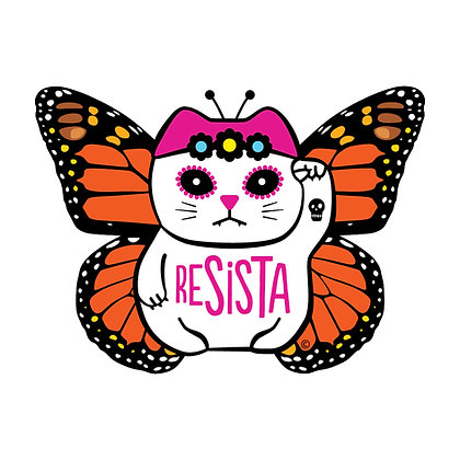 ReSISTA Butterfly Die-Cut Sticker
