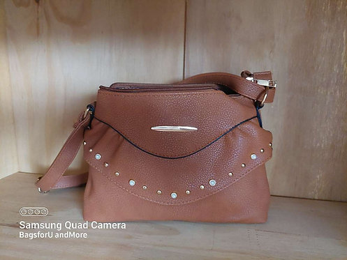 Sansa  studded crossbody bag