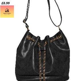 Drawstring Fashion Handbag
