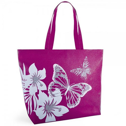 BUTTERFLY  PRINT BAG PINK