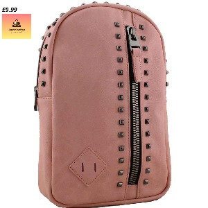 Candice studded backpackblue