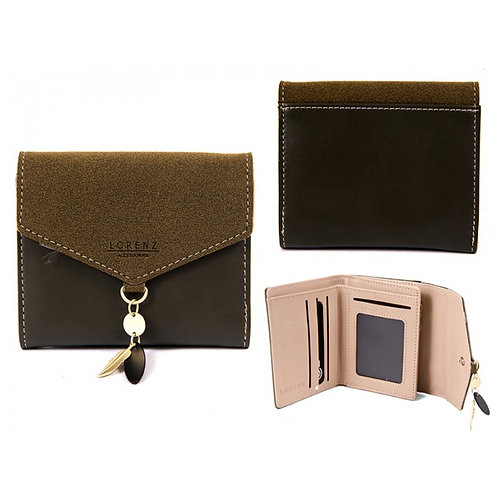 SMALL ENVELOPE STYLE FLAPOVER PURSE RFID