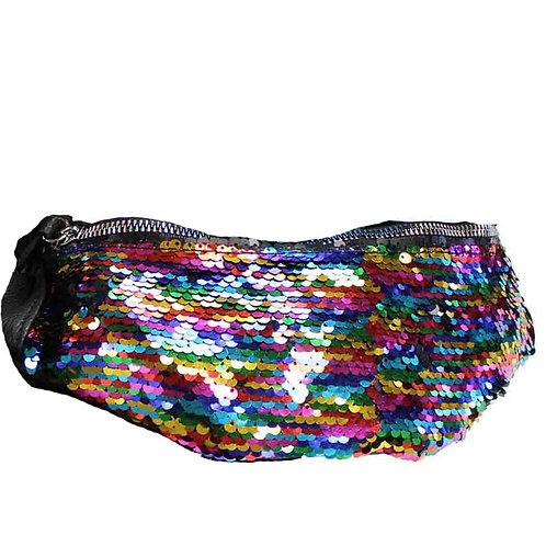 Sequin Bumbag – Rainbow