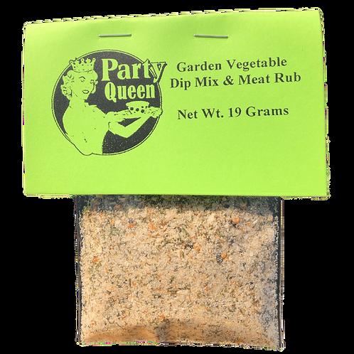 Garden Vegetable Dip Mix