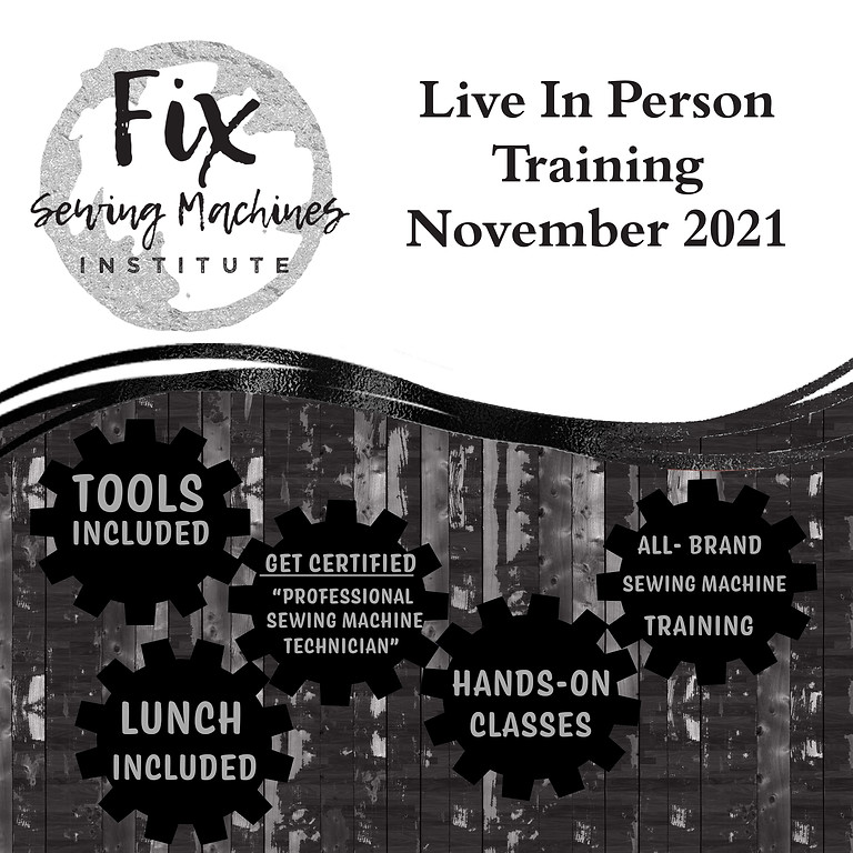 November 2021 Live Training