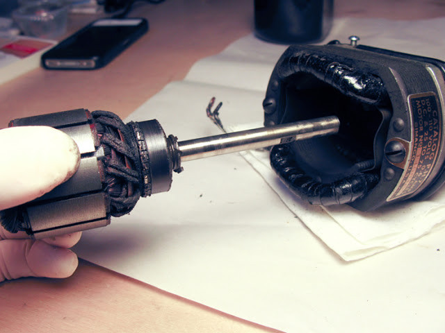 The Sewing Machine Motor