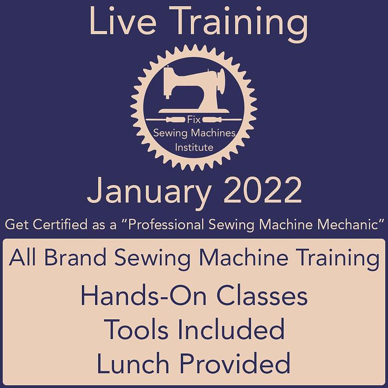 January 2022 Live Institute Training