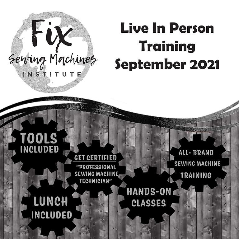 September 2021 Live Institute
